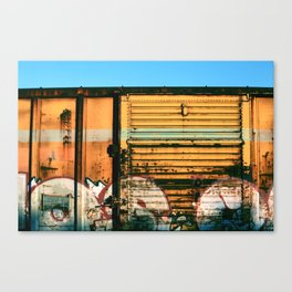 Box Car Porn Canvas Print