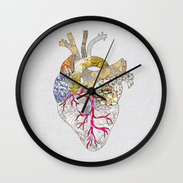 my heart is real Wall Clock