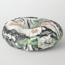 12,000pixel-500dpi - Pablo Picasso - Young flautist in a grove - Digital Remastered Edition Floor Pillow