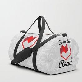 Born to Read II Duffle Bag