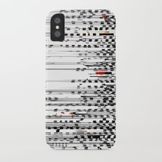 Black and White Noise Slim Case iPhone X