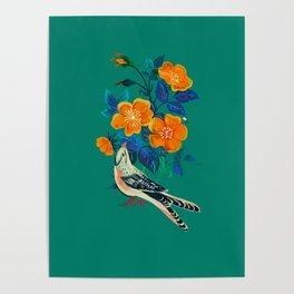 Autumnal Rose Poster