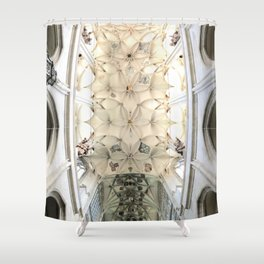 St Barbara's cathedral Shower Curtain
