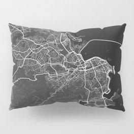 Rio de Janeiro dark Pillow Sham