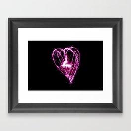Light Heart Framed Art Print