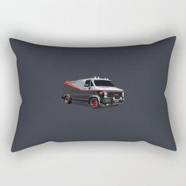 The A Team van illustration Rectangular Pillow