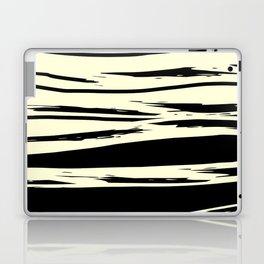 black + vanilla Laptop & iPad Skin