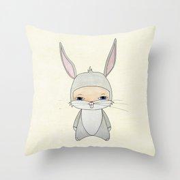 A Boy - Bugs Bunny Throw Pillow