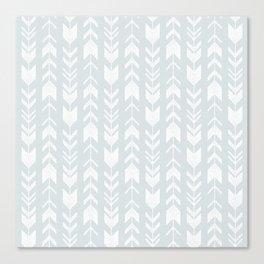 fletching arrows - cool gray Canvas Print