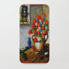 Hungarian Poppies iPhone Case