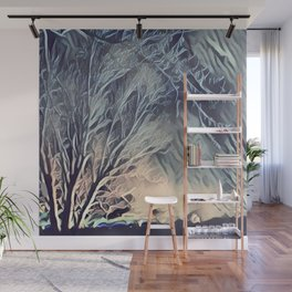 Ice Storm Wall Mural