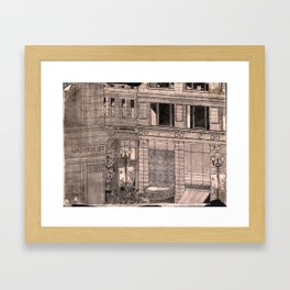 State and Madison Streets, Chicago Framed Art Print