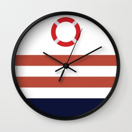 Life Ring,Nautical Wall Clock