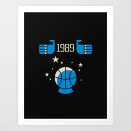 Orlando NBA Magic Art Print