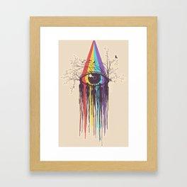 PRISM--EYE Framed Art Print