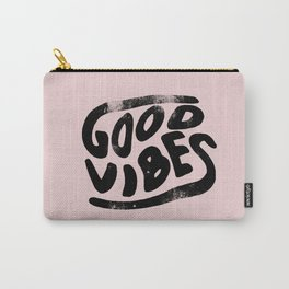 Good Vibes Pink Carry-All Pouch