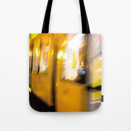 M Tram in Berlin Tote Bag