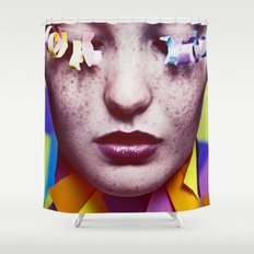 Draft Rough Shower Curtain