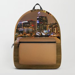 San Diego Skyline at Night Backpack