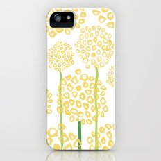 Yellow Flowers Slim Case iPhone (5, 5s)