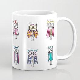 Hypnotized by 20 owls Coffee Mug