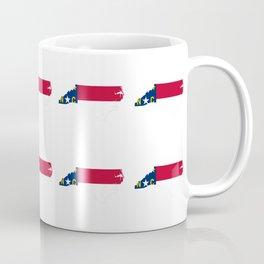 flag of north carolina 2, south,america,usa,Old North State,Tar Heel,North Carolinian,Charlotte,Rale Coffee Mug