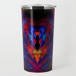 Heart of Fire Travel Mug