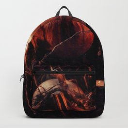 Pumpkins And Candles 1 Backpack