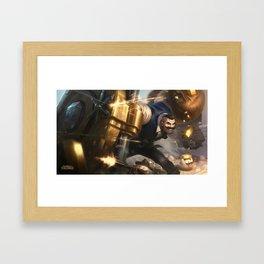 Mafia Braum League Of Legends Framed Art Print