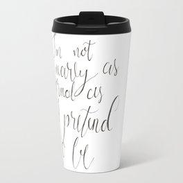 Not Nearly Normal Travel Mug