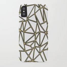 Ab Blocks White Gold iPhone Case