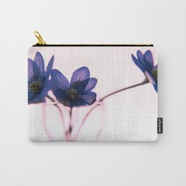 Hepatica pink Carry-All Pouch