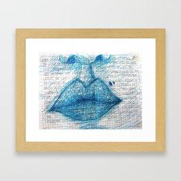 besos Framed Art Print