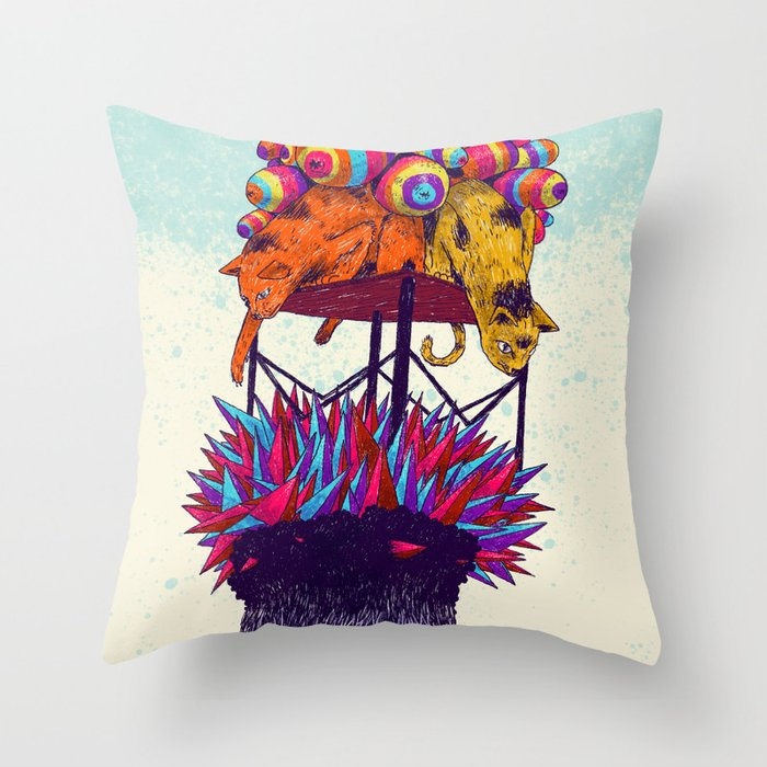Full head Throw Pillow