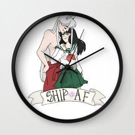 Inuyasha X Kagome Design Wall Clock