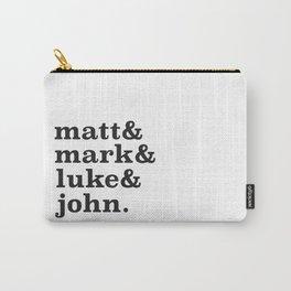 Matt&Mark&Luke&John. Carry-All Pouch