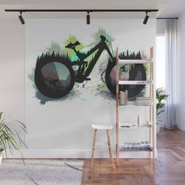 Wicked Bike Wall Mural