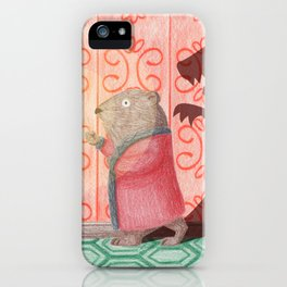 Frightened Phil iPhone Case