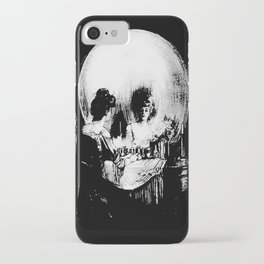 All Is Vanity: Halloween Life, Death, and Existence iPhone Case