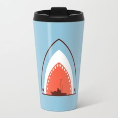 Great White Attack Travel Mug