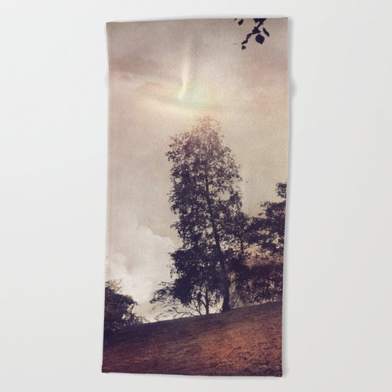 Sun & Trees Beach Towel