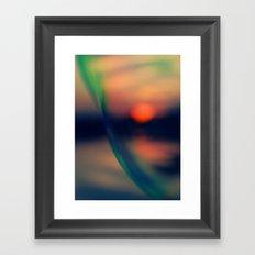 Sunset VII Framed Art Print