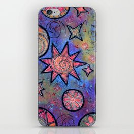 Sending Love and Healing Light Celestial Design iPhone Skin