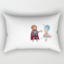 Valentine Tiara Rectangular Pillow