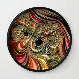 Amazing Fractal 218A Wall Clock