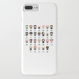 Harry Potter Alphabet iPhone Case