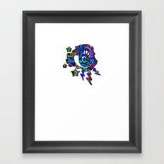C ALFABET Framed Art Print