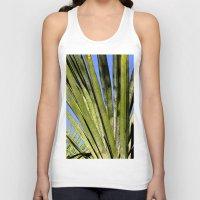 palm Tank Tops featuring Palm by Boris Burakov
