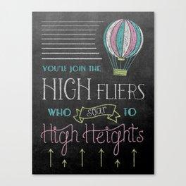 High Heights Canvas Print
