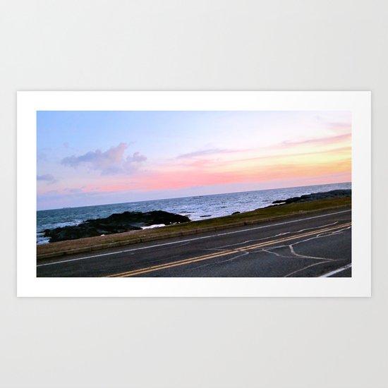 Newport, Rhode Island Sunset Art Print